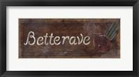 Betterave Fine-Art Print