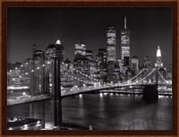 New York, New York, Brooklyn Bridge Fine-Art Print