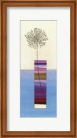 Stripy Vase and Dandelion Fine-Art Print
