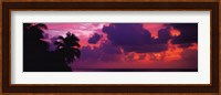 Sunset in the Maldives, North Indian Ocean Fine-Art Print