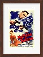 The Maltese Falcon Bogart Astor Fine-Art Print