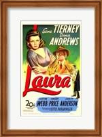 Laura Gene Tierney Fine-Art Print