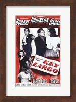 Key Largo Black and Red Fine-Art Print