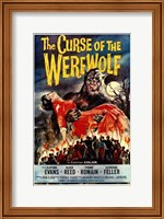 The Curse of the Werewolf Wall Poster