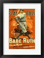 Play Ball with Babe Ruth Fine-Art Print