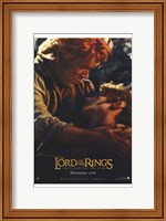 Lord of the Rings: Return of the King Frodo and Sam Fine-Art Print