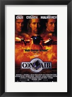 Con Air Cage Cusack Malkovich Wall Poster