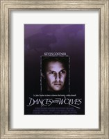 Dances with Wolves Western Wall Poster