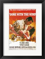 Gone with the Wind movie poster Fine-Art Print