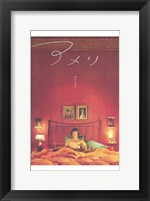 Amelie - in bed Wall Poster