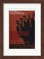 Reservoir Dogs Orange Wall Poster