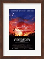 Gettysburg Martin Sheen Wall Poster