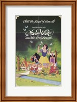Snow White and the Seven Dwarfs with Apple Fine-Art Print