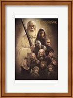 Lord of the Rings: the Two Towers Cast Fine-Art Print