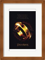 Lord of the Rings: the Two Towers Ring Fine-Art Print