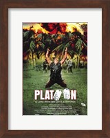 Platoon (spanish) Wall Poster