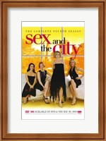 Sex and the City Fourth Season Wall Poster