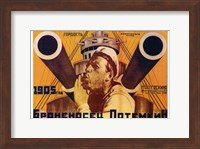The Battleship Potemkin Russian Wall Poster