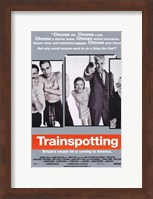 Trainspotting - characters Wall Poster