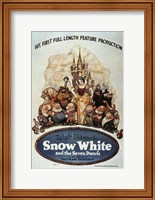 Snow White and the Seven Dwarfs Wall Poster