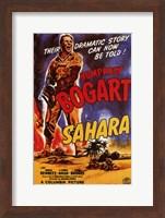 Sahara Humphrey Bogart Wall Poster