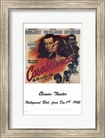 Casablanca Chinese Theater Wall Poster