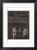 Casablanca Black and White Wall Poster