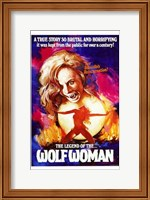 Legend of Wolf Woman Wall Poster