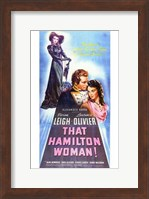 That Hamilton Woman Wall Poster