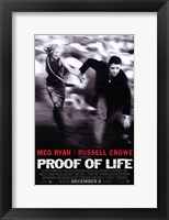 Proof of Life Wall Poster