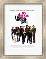 Ten Things I Hate About You Film Wall Poster