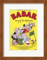 Babar: King of the Elephants Fine-Art Print