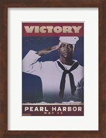 Pearl Harbor Art Deco Victory Wall Poster