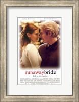 Runaway Bride Wall Poster