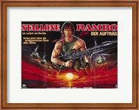 Rambo: First Blood Part 2 Wide Fine-Art Print
