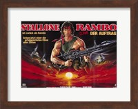 Rambo: First Blood Part 2 Wide Wall Poster