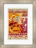Casablanca Warner Brothers Wall Poster