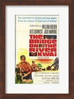 Bridge on the River Kwai Adeventure to be Seen Again & Again Wall Poster