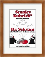 Dr Strangelove  or: How I Learned to Sto Wall Poster