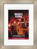Ocean's Eleven - five people Fine-Art Print