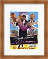 Une Parisienne Wall Poster