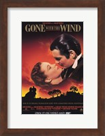 Gone with the Wind Scarlett O'Hara & Rhett Butler Fine-Art Print