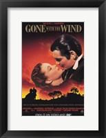 Gone with the Wind Scarlett O'Hara & Rhett Butler Fine-Art Print