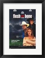 Flesh and Bone Wall Poster