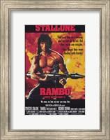 Rambo: First Blood  Part 2 Stallone Fine-Art Print