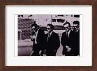 Reservoir Dogs B&W Scene Fine-Art Print
