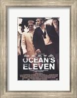 Ocean's Eleven - walking Wall Poster