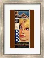 Very Private Affair Brigitte Bardot Wall Poster