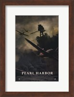 Pearl Harbor Ship Silhouette Wall Poster