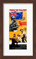 Breaker Morant - tall orange Wall Poster